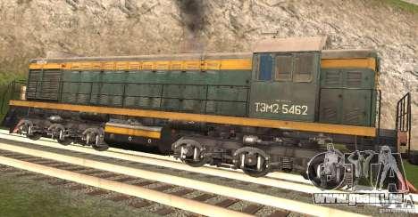 Eisenbahn-mod für GTA San Andreas her Screenshot