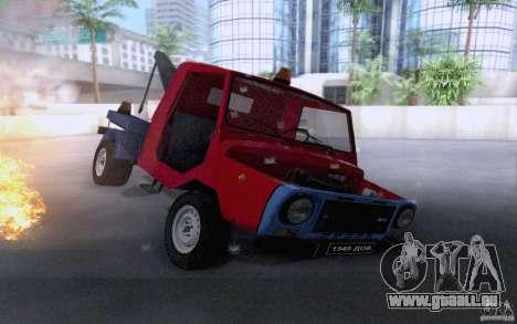 Camion de remorquage LuAZ 13021 pour GTA San Andreas vue de côté