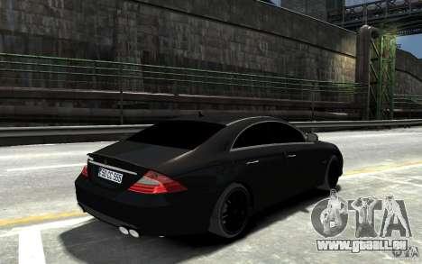 Mercedes Benz CLS Brabus Rocket 2008 pour GTA 4 est un droit