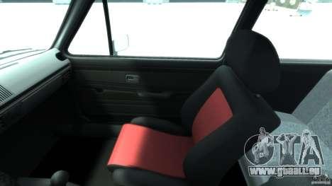 Volkswagen Golf Mk1 pour GTA 4 Vue arrière