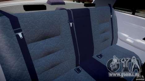 Ford Crown Victoria New Jersey State Police pour GTA 4 est une vue de l'intérieur