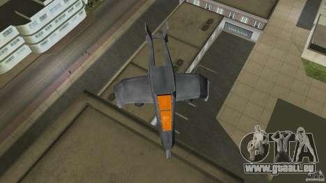 X-304 Gunship für GTA Vice City linke Ansicht