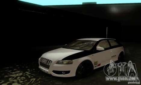 Audi S3 für GTA San Andreas Innen