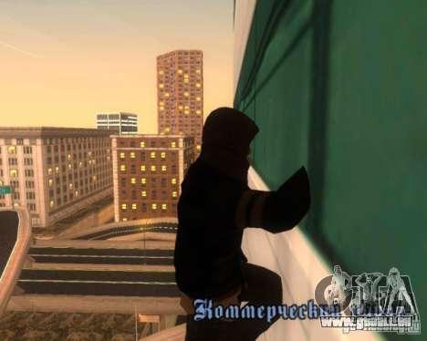 Prototype MOD pour GTA San Andreas deuxième écran