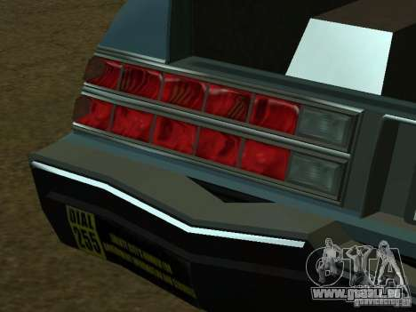 Das Römer-Taxi von GTA4 für GTA San Andreas Innen