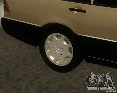 Mercedes Benz 400 SE W140 (Wheels style 2) für GTA San Andreas rechten Ansicht