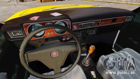 Taxi gaz-3102 pour GTA 4 est une vue de l'intérieur