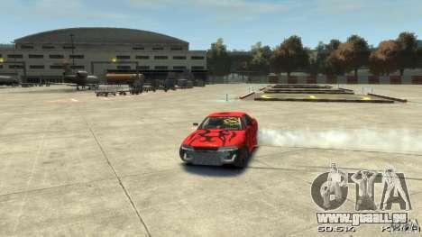 Nissan SkyLine R33 Gt-R S.R für GTA 4 Innen