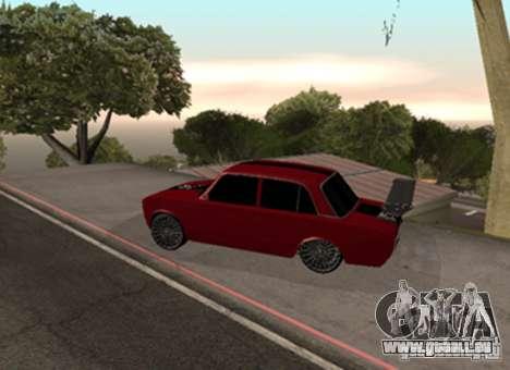 VAZ 2101 Drag für GTA San Andreas rechten Ansicht
