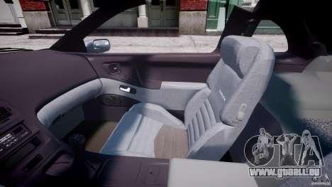Nissan 300 ZX 1994 v1.0 für GTA 4 Innenansicht