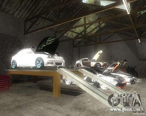 BMW 135i Hella Drift für GTA San Andreas Seitenansicht