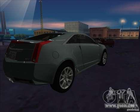 Cadillac CTS-V pour GTA San Andreas laissé vue