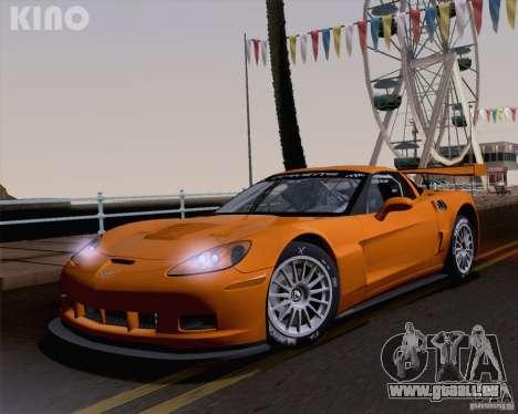Chevrolet Corvette C6 Z06R GT3 v1.0.1 für GTA San Andreas Innen