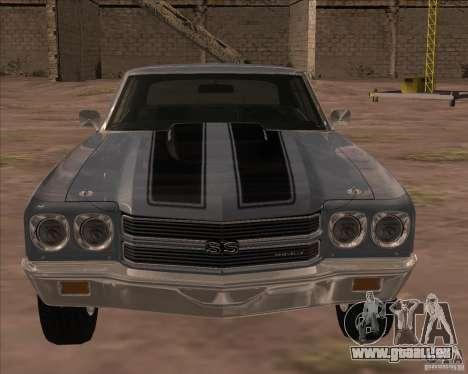 Chevrolet Chevelle SS pour GTA San Andreas