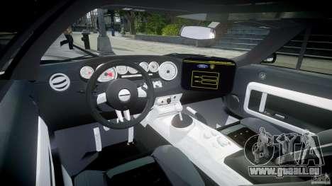 Ford GT1000 Hennessey Police 2006 [EPM][ELS] für GTA 4 rechte Ansicht