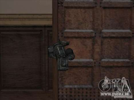 Minigun aus Gears of War für GTA San Andreas zweiten Screenshot
