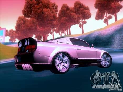 Ford Mustang Eleanor Prototype für GTA San Andreas Seitenansicht