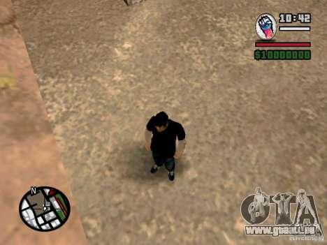 Slaude FXstyle pour GTA San Andreas quatrième écran