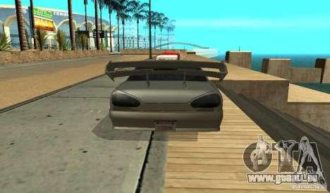 Elegy v1.1 pour GTA San Andreas vue de droite