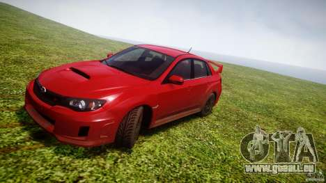 Subaru Impreza WRX STi 2011 pour GTA 4