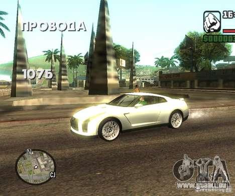Disques n'importe où pour GTA San Andreas quatrième écran