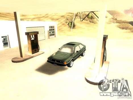 Volkswagen Scirocco Mk1 pour GTA San Andreas vue de droite