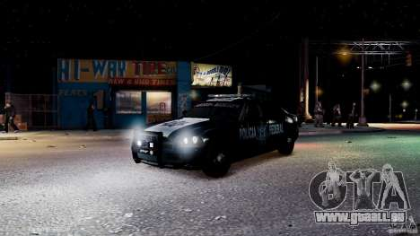 POLICIA FEDERAL MEXICO DODGE CHARGER ELS für GTA 4 Innen