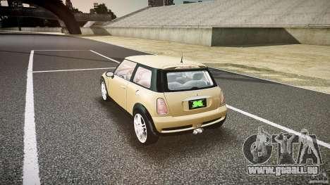 Mini Cooper S für GTA 4 hinten links Ansicht