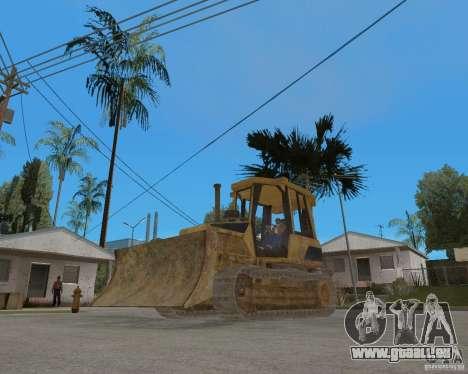 Bulldozer de COD 4 MW pour GTA San Andreas vue de droite