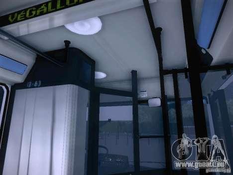 Ikarus 415 für GTA San Andreas Seitenansicht
