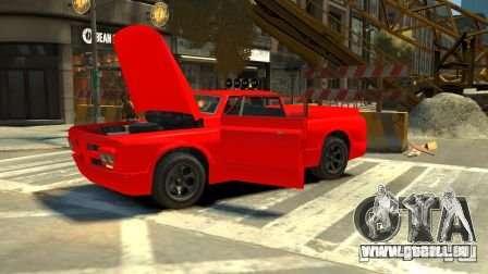 Slamvan für GTA 4 hinten links Ansicht