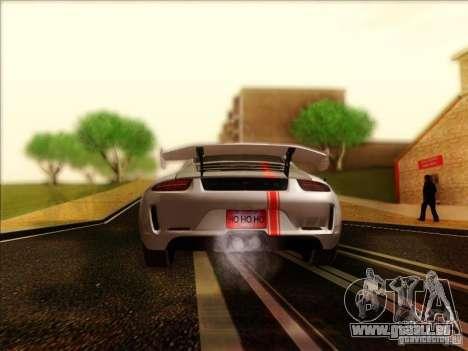 Porsche 911 Carrera S (991) Snowflake 2.0 pour GTA San Andreas vue de droite