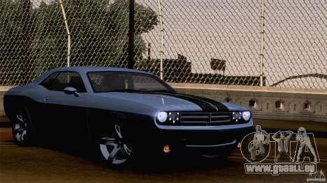 Dodge Challenger SRT8 pour GTA San Andreas moteur