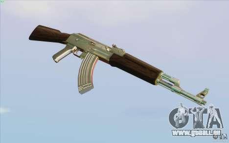 Low Chrome Weapon Pack für GTA San Andreas siebten Screenshot