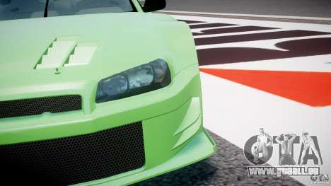 Nissan Skyline R34 v1.0 für GTA 4 Innen
