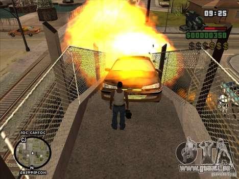 C4 explosif pour GTA San Andreas quatrième écran
