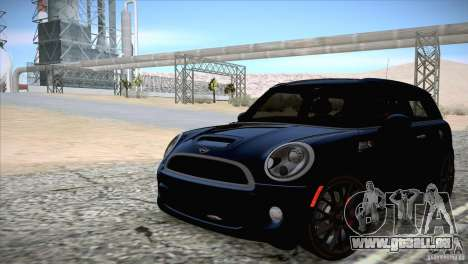 MINI Cooper Clubman JCW 2011 pour GTA San Andreas