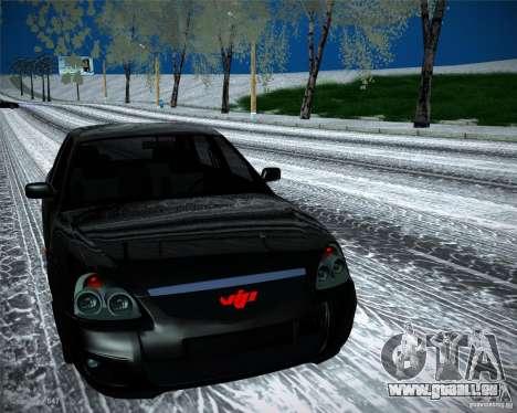 Lada Priora Vip Style pour GTA San Andreas vue de droite