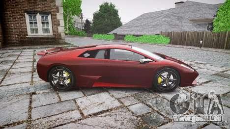 Lamborghini Murcielago v1.0b pour GTA 4 est une gauche