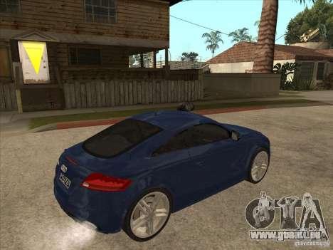 Audi TT RS 2010 pour GTA San Andreas vue de droite