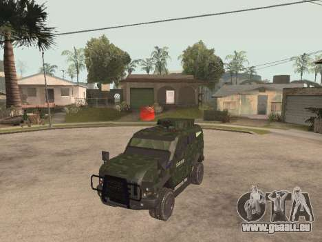 Oshkosh SandCat of Mexican Army für GTA San Andreas