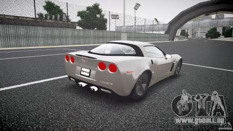 Chevrolet Corvette Z06 1.1 pour GTA 4 est un côté