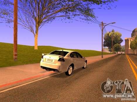 Chevrolet Lumina pour GTA San Andreas laissé vue