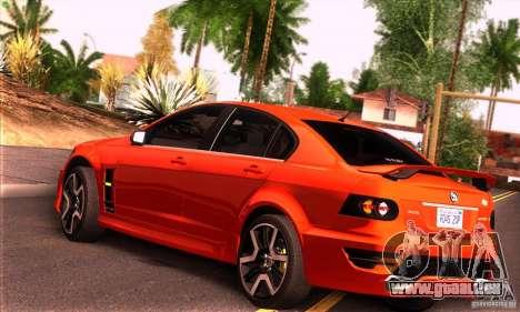 Holden HSV GTS pour GTA San Andreas vue de droite