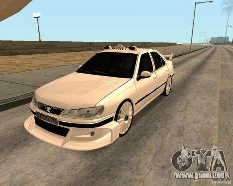 Peugeot 406 Taxi 2 pour GTA San Andreas