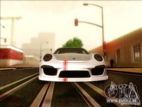Porsche 911 Carrera S (991) Snowflake 2.0 pour GTA San Andreas vue intérieure