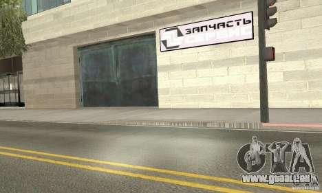Fünf Sterne und Spare part Service für GTA San Andreas zweiten Screenshot