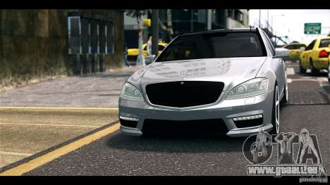 Mercedes-Benz S65 W221 AMG Vossen für GTA 4 hinten links Ansicht