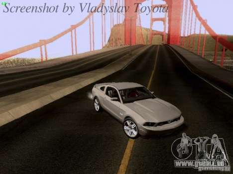 Ford Mustang GT 2011 pour GTA San Andreas roue