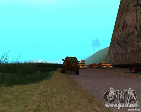 Cavalcade de GTA 4 pour GTA San Andreas vue de droite